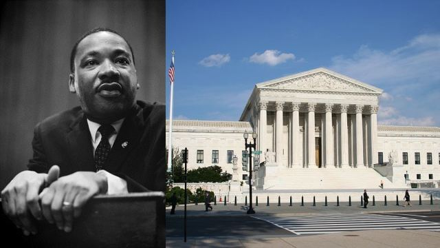 Martin Luther King, Jr. and U.S. Supreme Court
